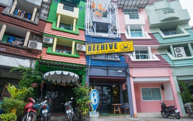 Beehive Phuket Oldtown Hostel Пхукет вид на фасад