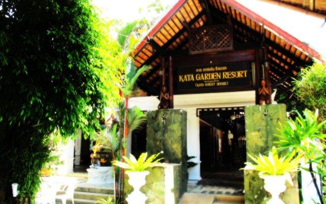 Отель Kata Garden Resort вид на фасад
