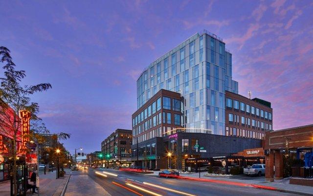 Отель Moxy Columbus Short North США, Колумбус - отзывы, цены и фото номеров - забронировать отель Moxy Columbus Short North онлайн вид на фасад