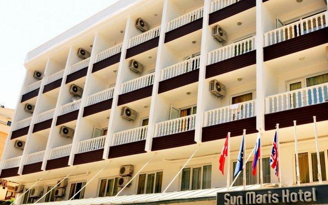 Sun Maris City Турция, Мармарис - отзывы, цены и фото номеров - забронировать отель Sun Maris City онлайн вид на фасад