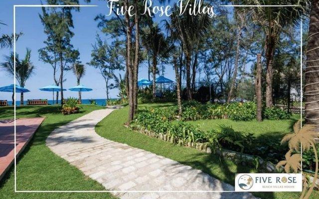Отель Five Rose Villas вид на фасад