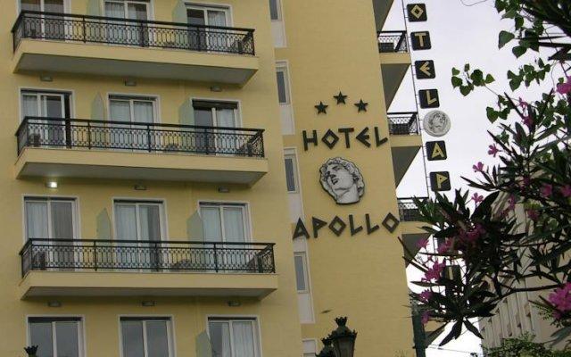Apollo Hotel вид на фасад
