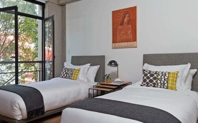 Апартаменты Perfect Modernation Apartment by Mr.W Мехико вид на фасад