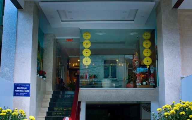 Отель Dubai Nha Trang Hotel Вьетнам, Нячанг - отзывы, цены и фото номеров - забронировать отель Dubai Nha Trang Hotel онлайн вид на фасад