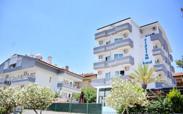Elysium Otel Marmaris Турция, Мармарис - отзывы, цены и фото номеров - забронировать отель Elysium Otel Marmaris онлайн вид на фасад