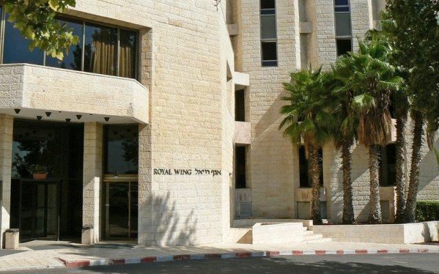 Отель Royal Wing Иерусалим вид на фасад