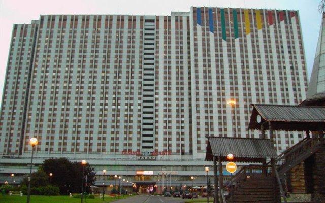 Izmailovo Gamma Delta Hotel вид на фасад