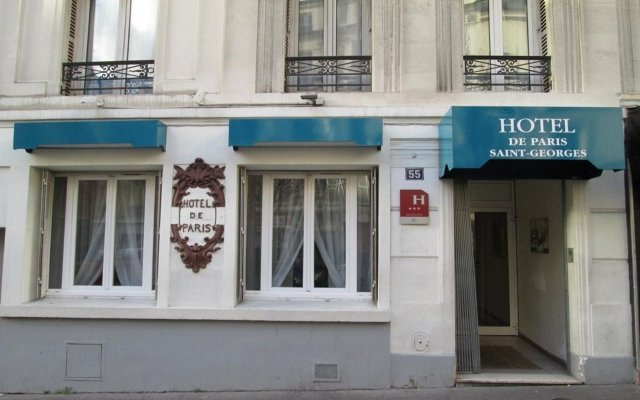 Hotel De Paris Saint Georges вид на фасад