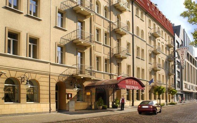 Hotel Hetman вид на фасад