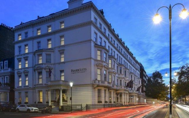 Отель Fraser Suites Queens Gate Великобритания, Лондон - отзывы, цены и фото номеров - забронировать отель Fraser Suites Queens Gate онлайн вид на фасад