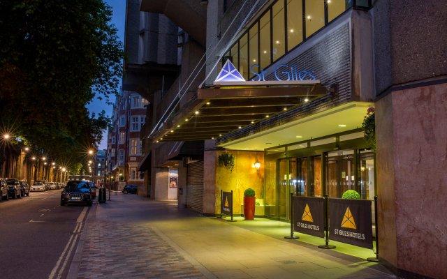 St Giles London - A St Giles Hotel вид на фасад