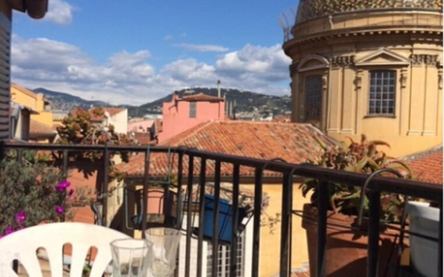 Апартаменты Apartment With one Bedroom in Nice, With Wonderful Mountain View, Furnished Balcony and Wifi Ницца