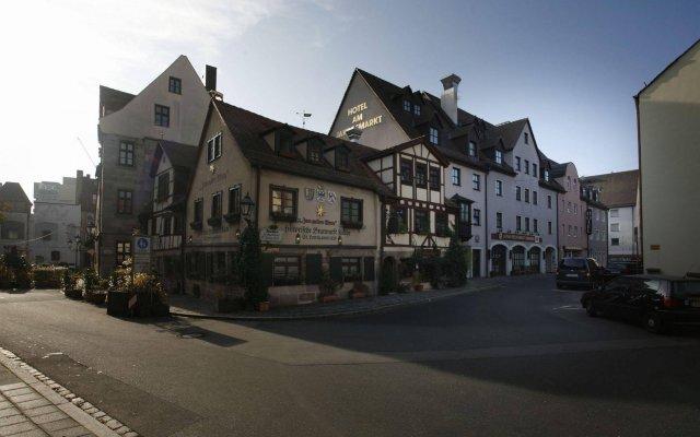 Отель am Jakobsmarkt Германия, Нюрнберг - отзывы, цены и фото номеров - забронировать отель am Jakobsmarkt онлайн вид на фасад