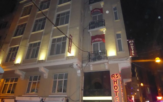 As Hotel Old City Taksim вид на фасад