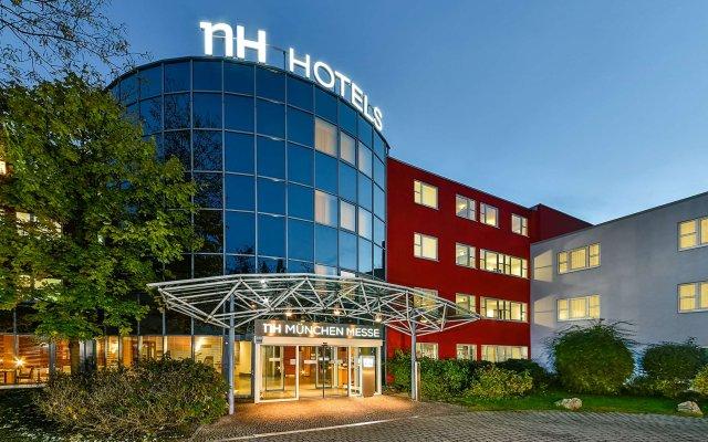 Отель NH München Messe Германия, Мюнхен - 2 отзыва об отеле, цены и фото номеров - забронировать отель NH München Messe онлайн вид на фасад