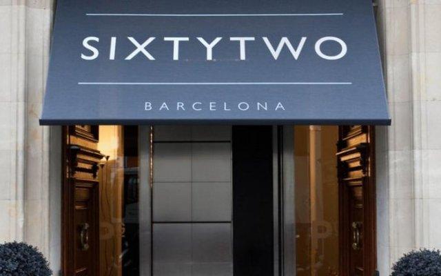 Отель Sixtytwo Испания, Барселона - 5 отзывов об отеле, цены и фото номеров - забронировать отель Sixtytwo онлайн вид на фасад
