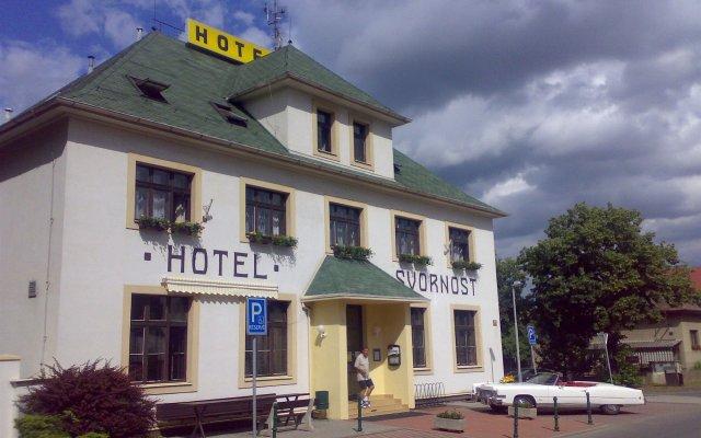 Hotel Svornost вид на фасад