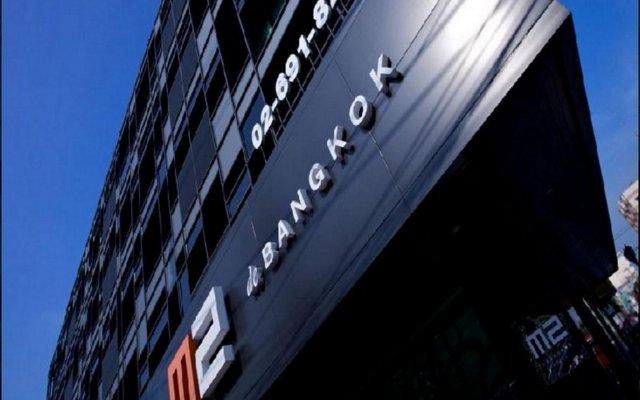 Отель M2 De Bangkok Бангкок вид на фасад