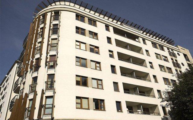 Отель Apartamenty Mokotów TWW Варшава вид на фасад