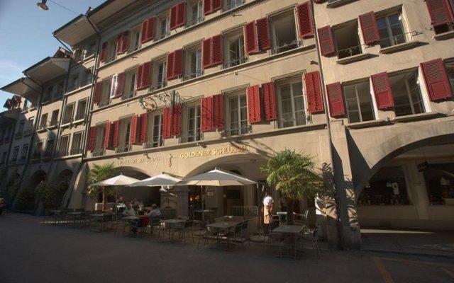 Отель Goldener Schlüssel Швейцария, Берн - 1 отзыв об отеле, цены и фото номеров - забронировать отель Goldener Schlüssel онлайн вид на фасад