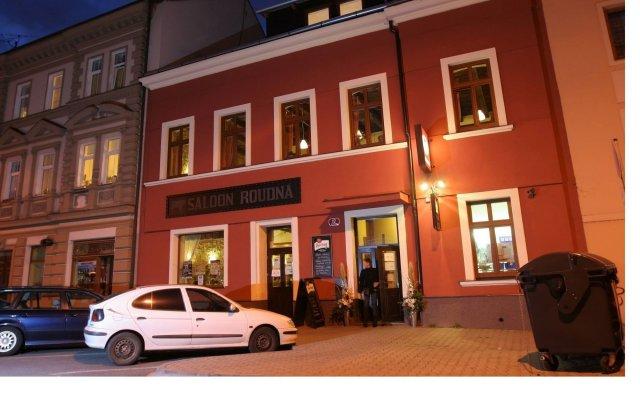 Отель ROUDNA Пльзень вид на фасад