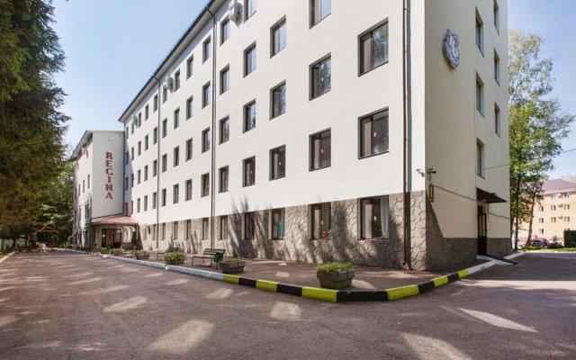 Гостиница Регина вид на фасад