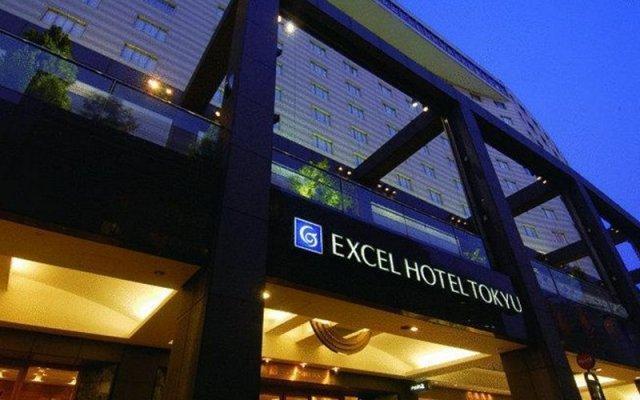 Akasaka Excel Hotel Tokyu вид на фасад