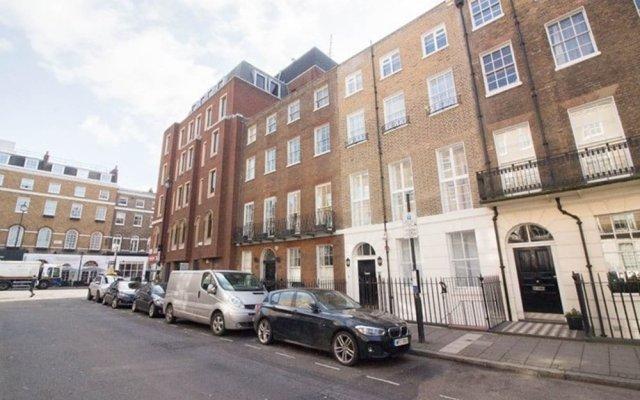 Отель Flying Butler Baker Street Apartments Великобритания, Лондон - отзывы, цены и фото номеров - забронировать отель Flying Butler Baker Street Apartments онлайн вид на фасад