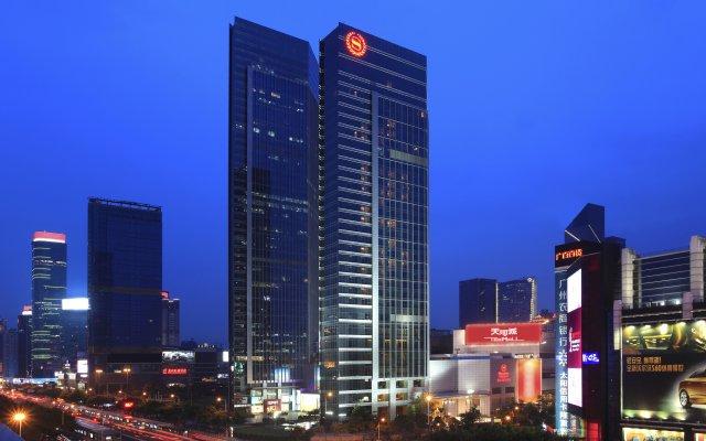Sheraton Guangzhou Hotel вид на фасад