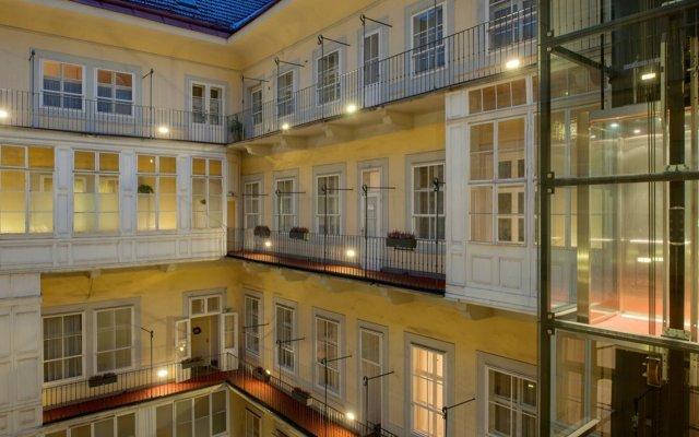 Отель Pertschy Palais Hotel Австрия, Вена - 5 отзывов об отеле, цены и фото номеров - забронировать отель Pertschy Palais Hotel онлайн вид на фасад