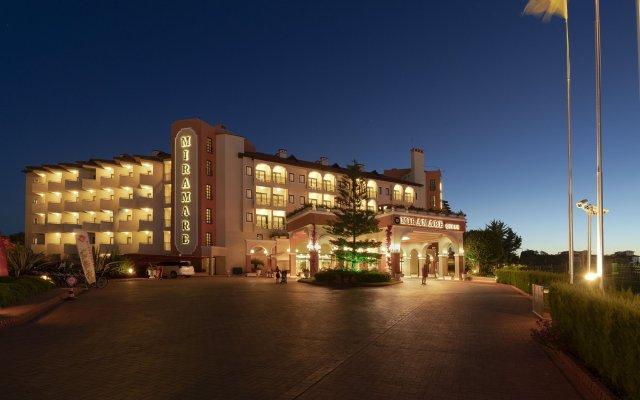 Miramare Queen Hotel Турция, Сиде - 1 отзыв об отеле, цены и фото номеров - забронировать отель Miramare Queen Hotel - All Inclusive онлайн вид на фасад