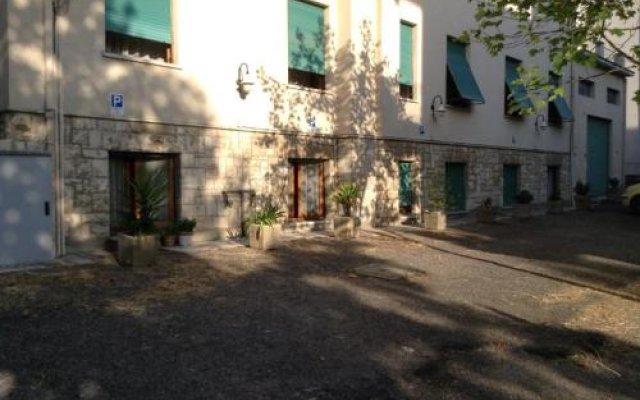 Отель Albergo Ardea Кьянчиано Терме вид на фасад