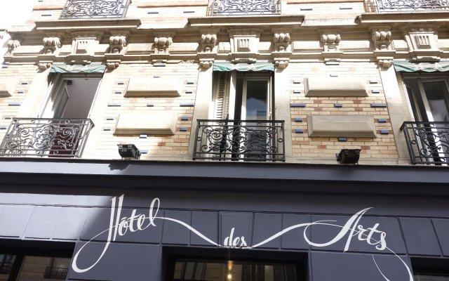Отель Hôtel Des Arts-Bastille вид на фасад