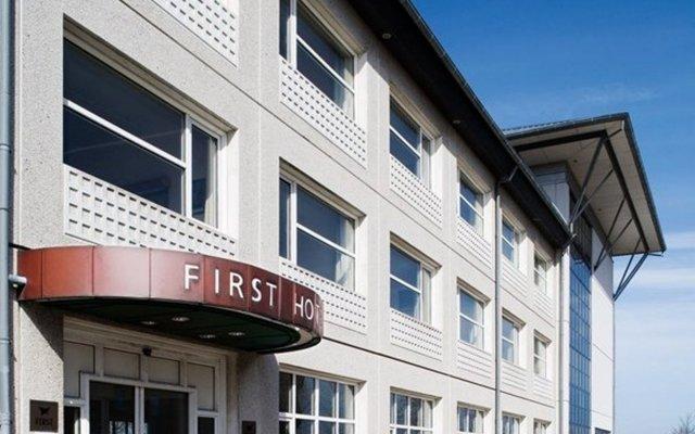 Отель First Hotel Aalborg Дания, Алборг - отзывы, цены и фото номеров - забронировать отель First Hotel Aalborg онлайн вид на фасад