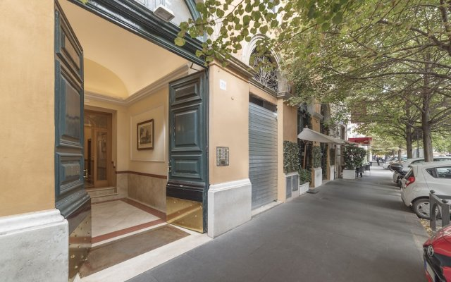 Отель Villa Borghese Roomy Flat вид на фасад