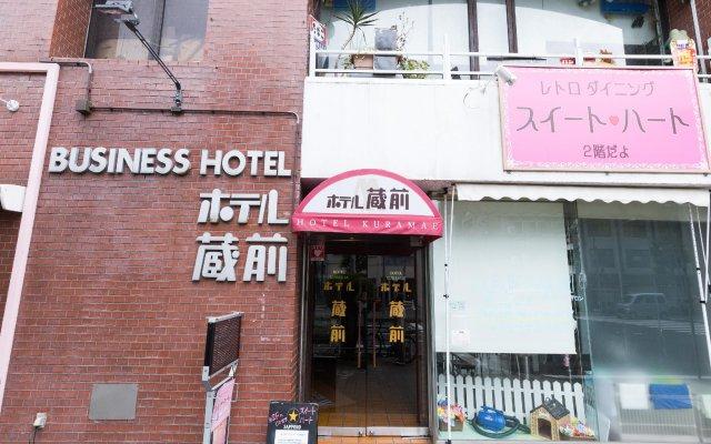 Hotel Kuramae вид на фасад