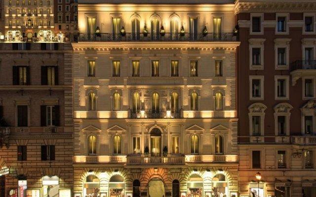 Отель Artemide вид на фасад