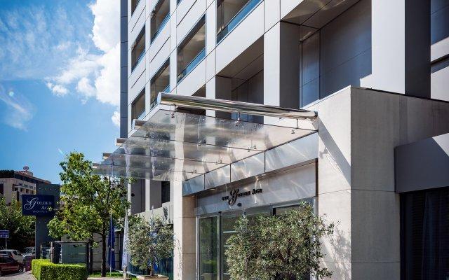 Отель Golden Age Hotel Греция, Афины - 2 отзыва об отеле, цены и фото номеров - забронировать отель Golden Age Hotel онлайн вид на фасад