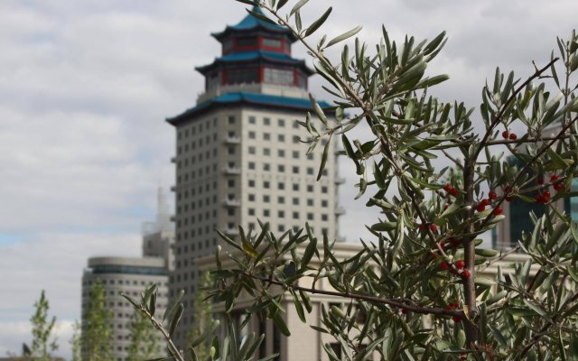 Гостиница Пекин Палас Soluxe Astana Казахстан, Нур-Султан - 4 отзыва об отеле, цены и фото номеров - забронировать гостиницу Пекин Палас Soluxe Astana онлайн вид на фасад