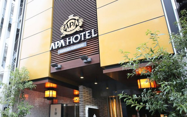 APA Hotel Asakusa Kuramae вид на фасад
