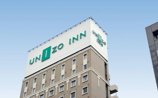 Отель UNIZO INN Tokyo Hatchobori вид на фасад