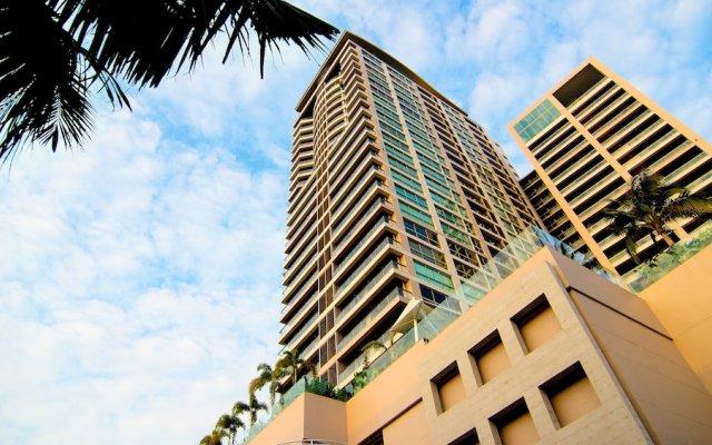 Отель North Shore Condominium Паттайя вид на фасад