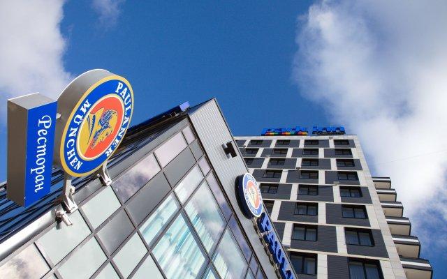 Гостиница Park Inn by Radisson Ярославль в Ярославле - забронировать гостиницу Park Inn by Radisson Ярославль, цены и фото номеров вид на фасад