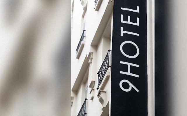 Отель 9Hotel Opera Франция, Париж - отзывы, цены и фото номеров - забронировать отель 9Hotel Opera онлайн вид на фасад