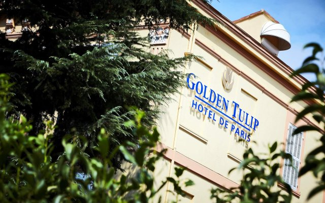 Golden Tulip Cannes hotel de Paris вид на фасад