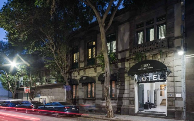 Отель Exe Cities Reforma Мексика, Мехико - отзывы, цены и фото номеров - забронировать отель Exe Cities Reforma онлайн вид на фасад