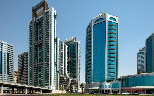 Отель Four Points by Sheraton Sharjah вид на фасад