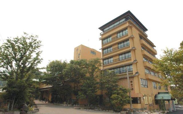 Отель Motoyu-no-yado Kurodaya Беппу вид на фасад
