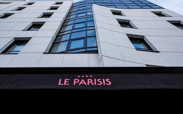 Отель Le Parisis Tour Eiffel Париж вид на фасад