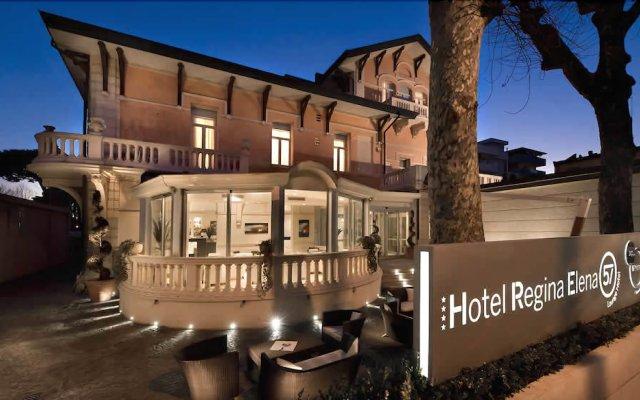 Отель Regina Elena 57 & Oro Bianco Spa Италия, Римини - 2 отзыва об отеле, цены и фото номеров - забронировать отель Regina Elena 57 & Oro Bianco Spa онлайн вид на фасад